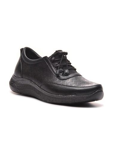 Bulldozer 211559 Kadın Deri Ayakkabı Siyah